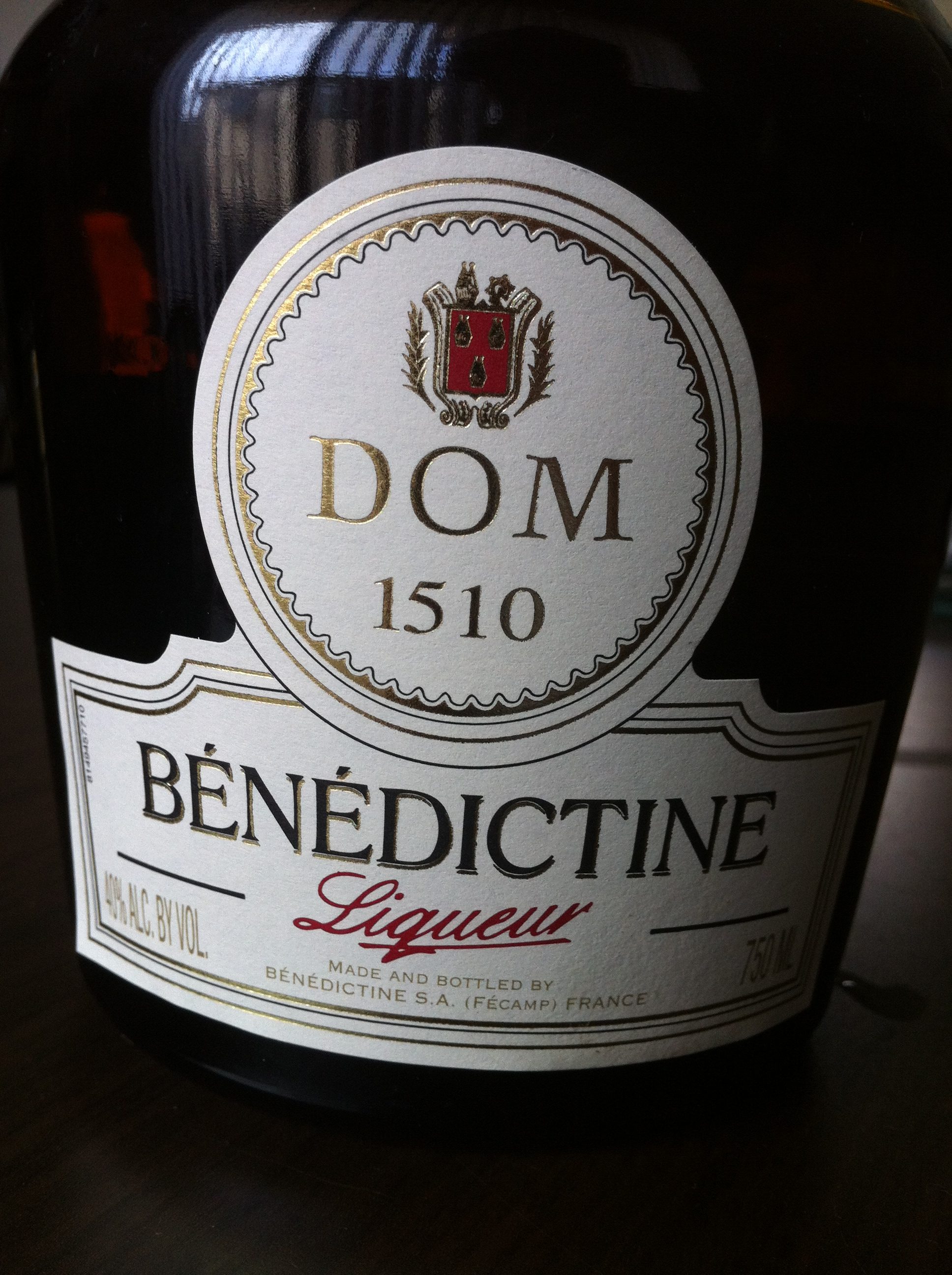 Benedictine Drinks And Drinking