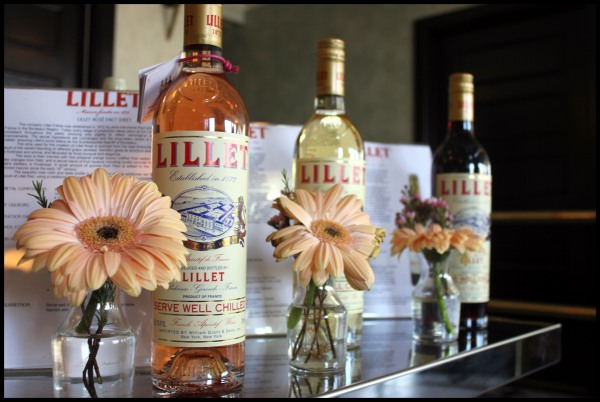 lillet welcome shot