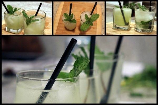 [mojito] three glasses