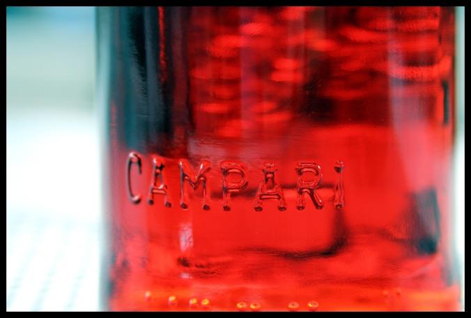 [campari] detail bottle