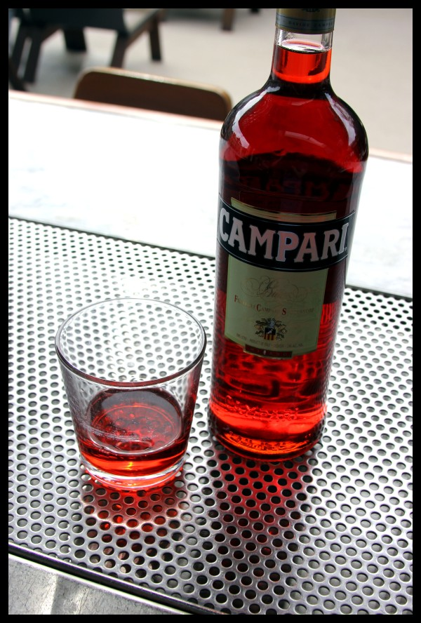 [campari] drinking