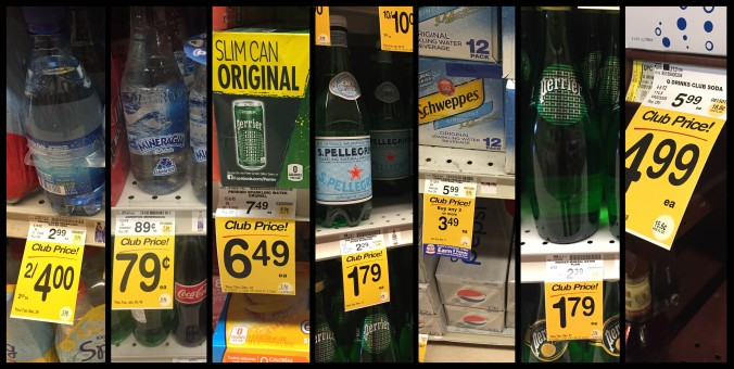 [soda] cost difference supermarket